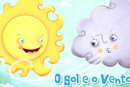 O sol e o vento