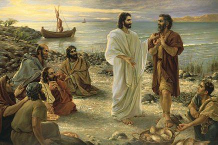O encontro de Jesus com Pedro