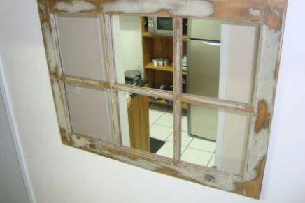 A janela e o espelho